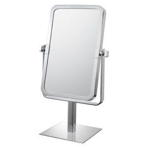 Bathroom Mirror Rectangular Vanity Brushed Nickel